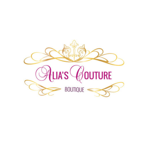 Logo for Alia's Couture Boutique