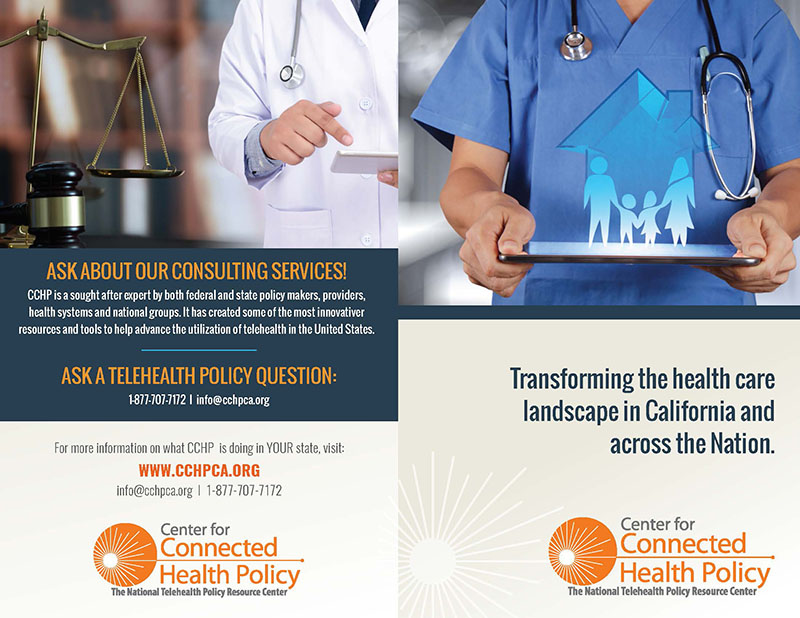Center for Connected Health Policy brochure thumbnail