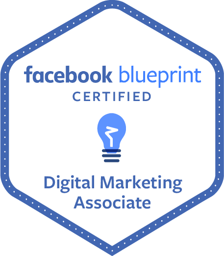 Kevin Olson's certification for Facebook Blueprint