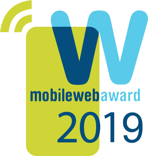 Mobile web award badge