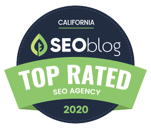 Best SEO Agency 2020 badge