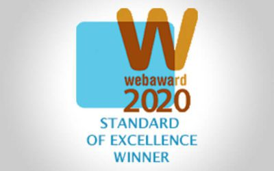 The CTS Web Design Team Wins Another Web Award in 2020